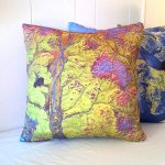 Geology: USGS Map Pillow Covers