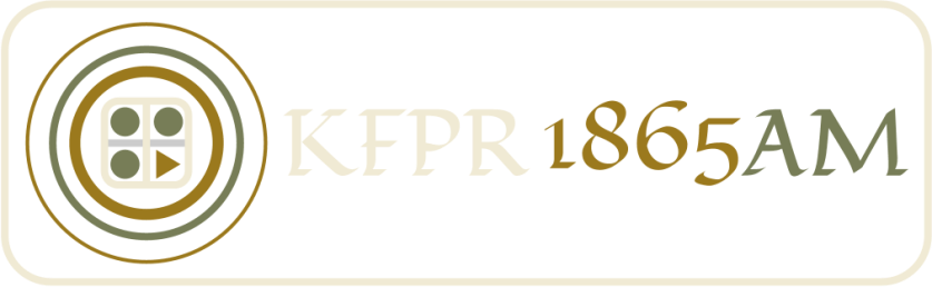 KFPR 1865AM Button