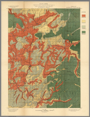 Plate CXXVIII. Roseburg Quadrangle, Oregon, Land Classification and Density of Standing Timber (Cartography Associates CC BY-NC-SA)