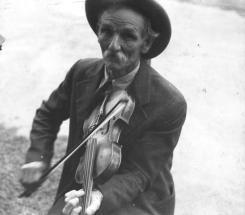 Fiddlin Bill Henseley, Mountain Fiddler, Asheville, North Carolina by Ben Shahn, 1937