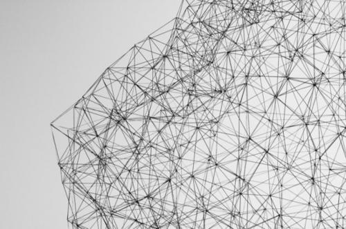 geometric art | The Finch and Pea