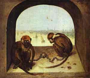 pieter-bruegel-the-elder-two-chained-monkeys-1