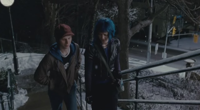 The Baldwin Steps in Scott Pilgrim vs The World.