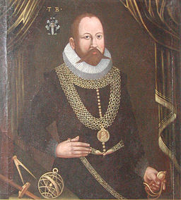 Tycho Brahe, Image from Wikipedia