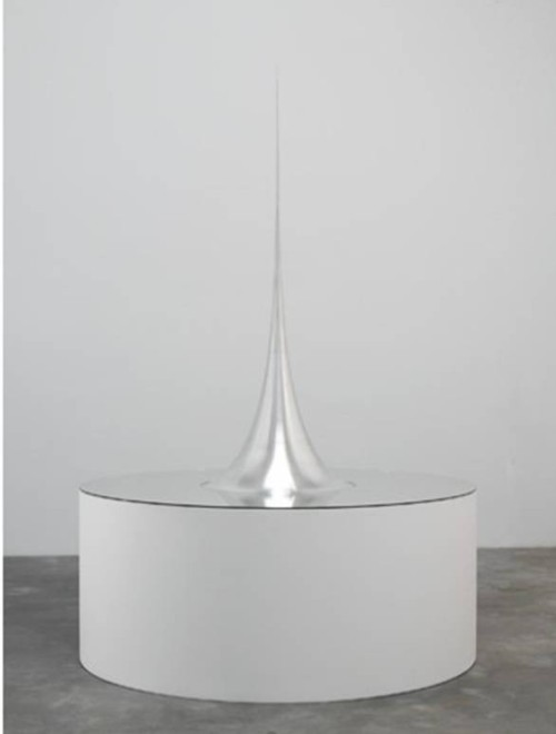 Mathematical Model 009 Surface of revolution with constant negative curvature, 2006