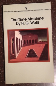 The Time Machine by HG Wells (1991 Bantam Classic Reissue from library of Josh Witten)