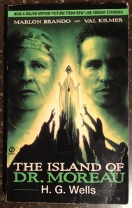 The Island of Dr. Moreau by HG Wells (1996 printing from library of Josh Witten)