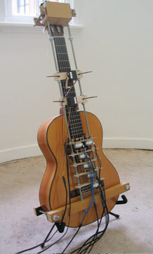 Simon Blackmore, Weather Guitar, 2006