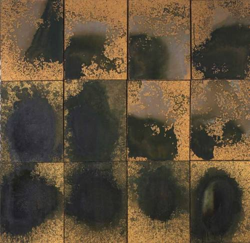 Andy Warhol. Oxidation Painting (in 12 parts), 1978.