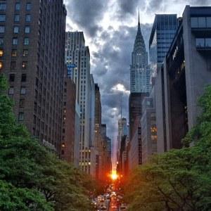 2014 Manhattanhenge