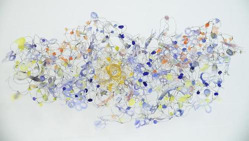 Yuriko Yamaguchi, Cloud, 2014 (detail)