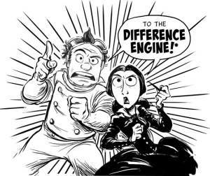"""The Thrilling Adventures of Lovelace & Babbage"" by Sydney Padua (All Rights Reserved; Adapted with Permission)"