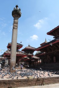 Kathmandu Durbar Square in better days. Not sure which of these buildings are still standing.