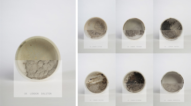 Lucie Libotte, Dust Matters, Ceramic, 2014