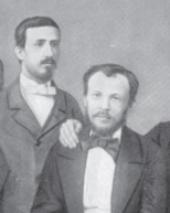 Borodin (left) and Mendeleev (right)