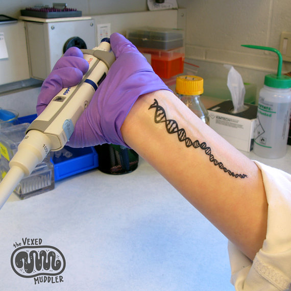 The Art of Science: Stylish Sci Tattoos, Minus Pain | The ...