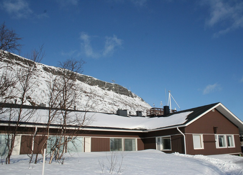 The Main Building of the Kilpisjarvi Biological Station