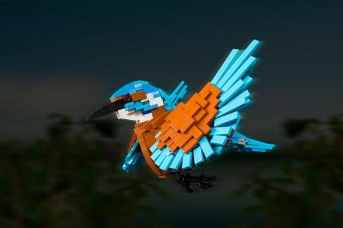 """""""Kingfisher"""" by 'rolli (All Rights Reserved; Used with Permission)"""